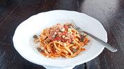 Makaron z anchois - danie stare jak świat