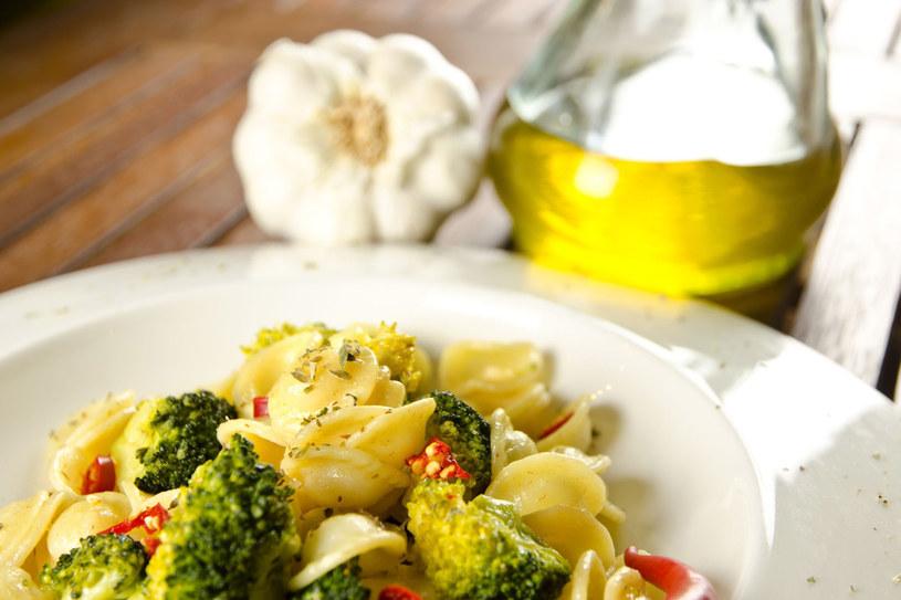 Makaron z brokulami /123RF/PICSEL