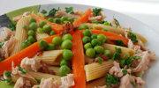 Makaron z warzywami i kurczakiem (po 12. miesiącu)
