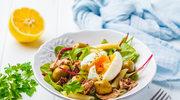 Makaronowe sałatki pełne warzyw