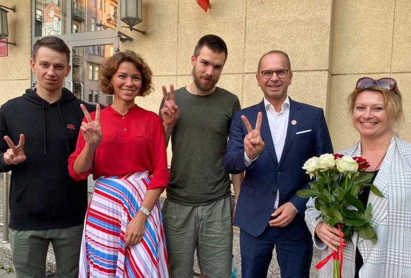 Makary Malakhouski wyszedł na wolność /Białoruski Dom /Twitter