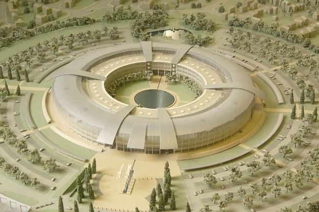 Makieta kwatery głównej GCHQ. Fot. Matt Crypto /materiały prasowe