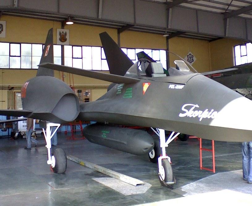Makieta samolotu PZL-230 Skorpion, zdjęcie autorstwa: Maciej Ograbek, Wikimedia Commons /Wikipedia