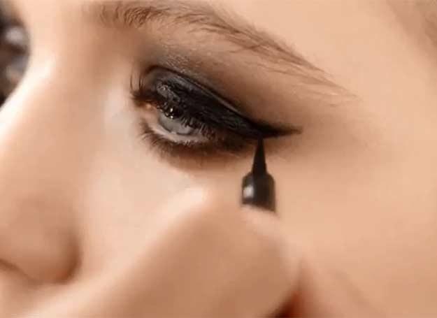 Makijaż oka smoky eye /INTERIA.PL