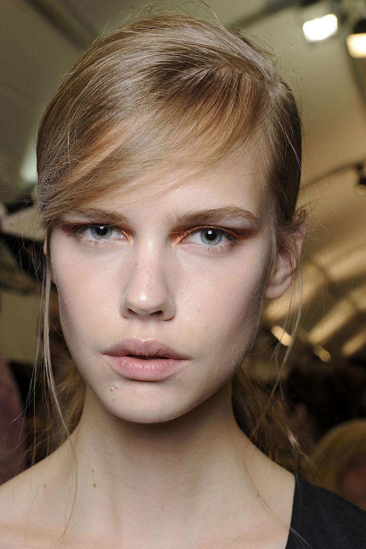 Makijaż z pokazu Chloe /East News/ Zeppelin