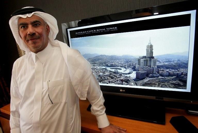 Makkah Clock Royal Tower /AFP