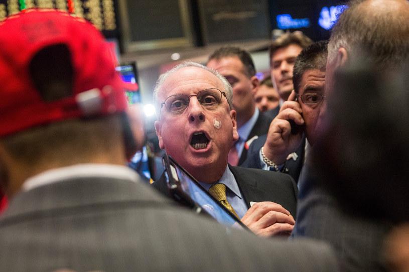 Maklerzy NYSE                          fot. Andrew Burton /Getty Images