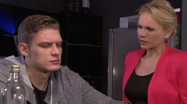Maks chce zemsty na Zdybickiej. Nie wie, że już wkrótce zostanie ojcem jej dziecka! /TVN