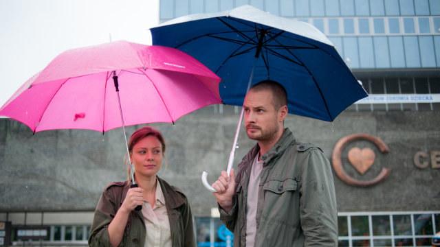 Maks i Olga /Piotr Litwic /TVN