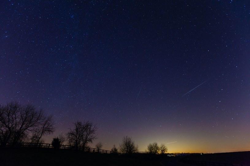 Maksimum aktywności meteorów występuje zazwyczaj w nocy z 21 na 22 kwietnia. /123RF/PICSEL