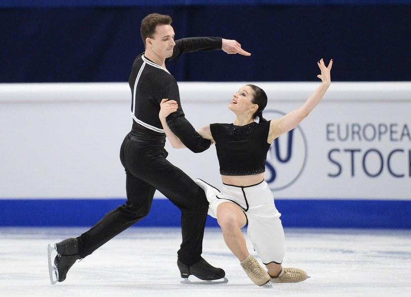 Maksym Spodyriew i Natalia Kaliszek /AFP