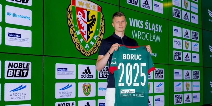 Maksymilian Boruc /Śląsk Wrocław /materiały prasowe