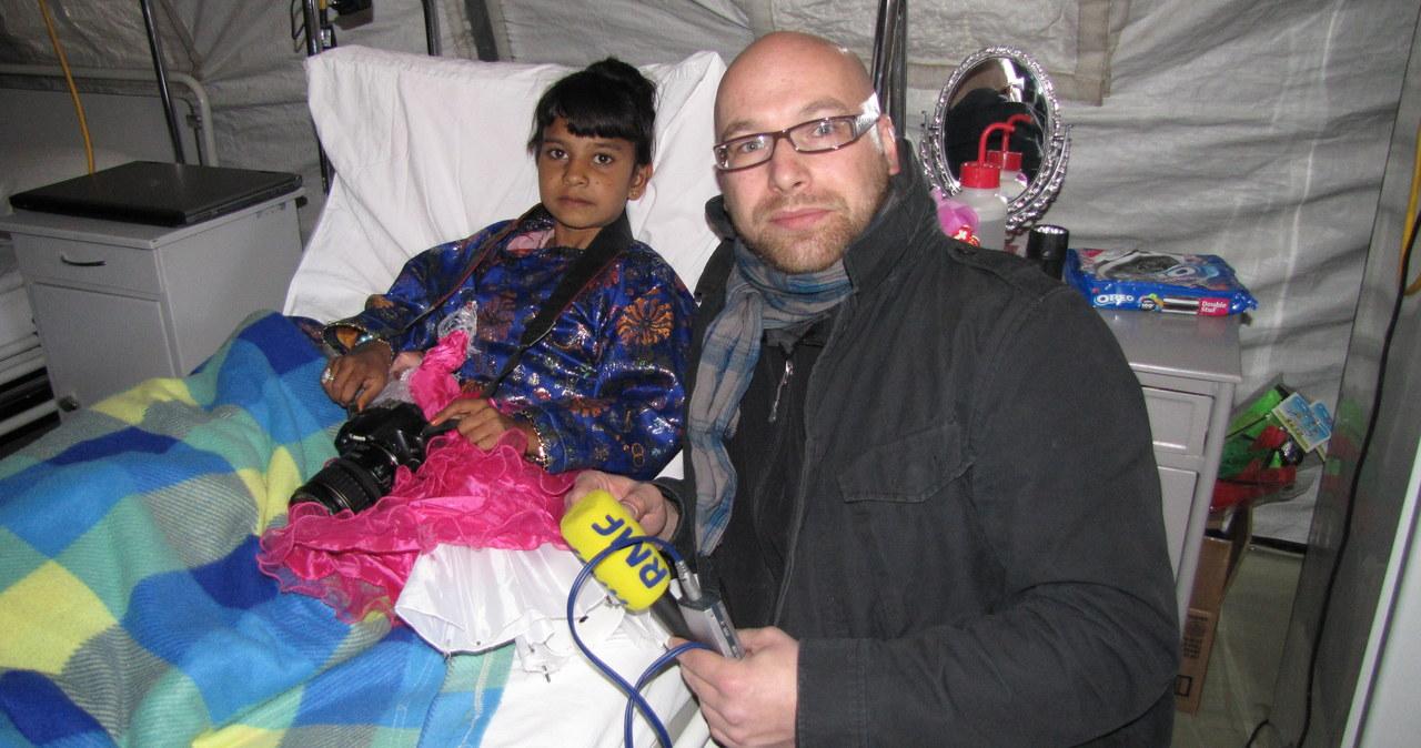Mała Afganka wraca do zdrowia w polskim szpitalu w Ghaznii
