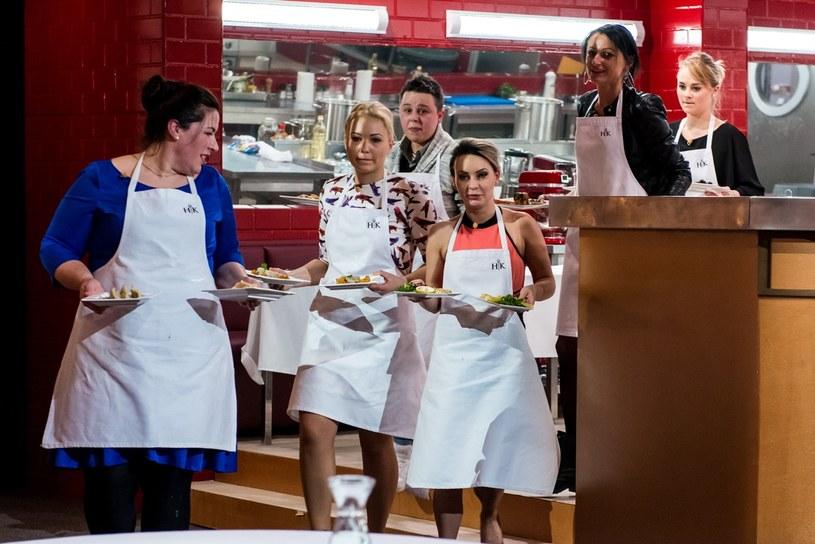 """""""Mała"""" Ania w """"Hell's Kitchen"""" /Maciej Piórko /Polsat"""