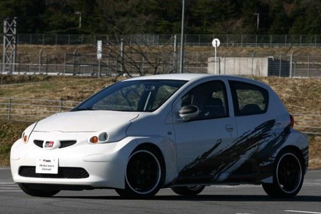 Mała toyota z napędem na tył / Fot: Gazoo Racing /