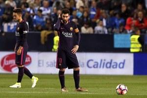 """Malaga CF - FC Barcelona 2-0. Fatalna """"Blaugrana"""" i sędziowski skandal"""