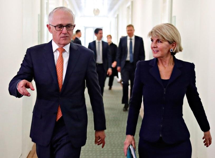 Malcolm Turnbull i Julie Bishop /AFP