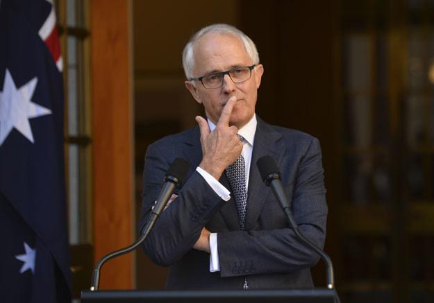 """Malcolm Turnbull: """"Radykalizacja i ekstremizm mogą dotyczyć już najmłodszych"""" /AFP"""