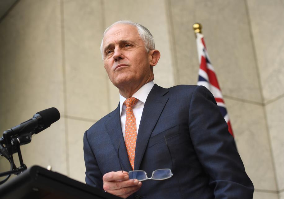 Malcolm Turnbull /SAM MOOY /PAP/EPA