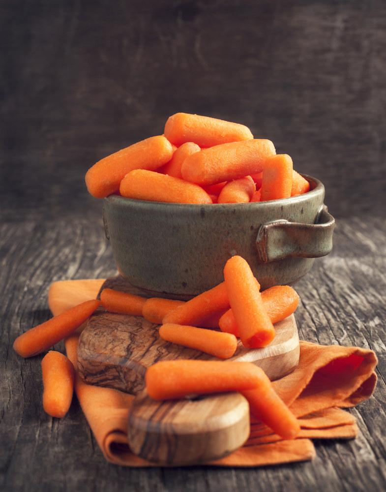 małe marchewki /© Photogenica