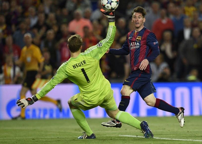 Małe nóżki Leo Messiego to przyczyna klęski Pepa Guardioli i całego Bayernu. /AFP
