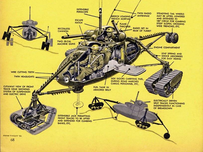 Małe wozy bojowe miały w przyszłości królować na polu walki /materiały prasowe