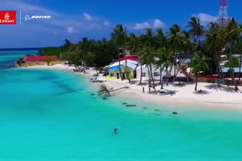 Malediwy nagrywane przy pomocy drona /materiały prasowe