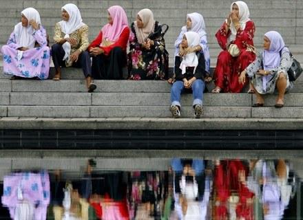 Malezyjskie kobiety. /AFP