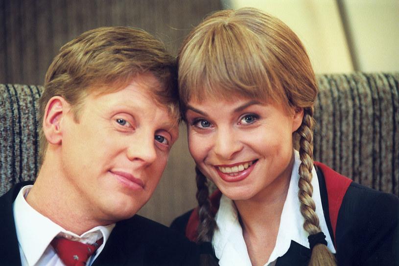 Małgorzata Biniek i Jan Jankowski /AKPA