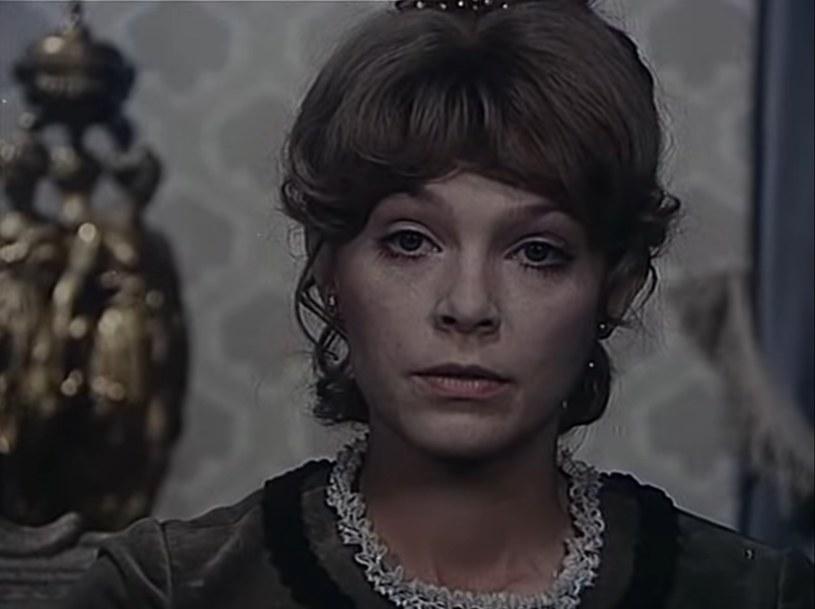 Małgorzata Braunek w roli Izabeli Łęckiej /YouTube