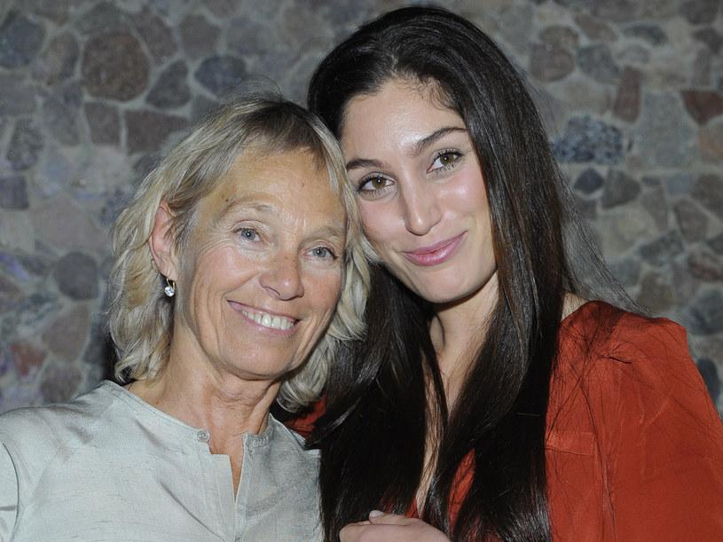 Małgorzata Braunek z córką Oriną  /Jarosław Antoniak /MWMedia