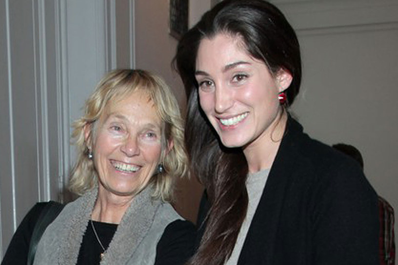 Małgorzata Braunek z córką /East News
