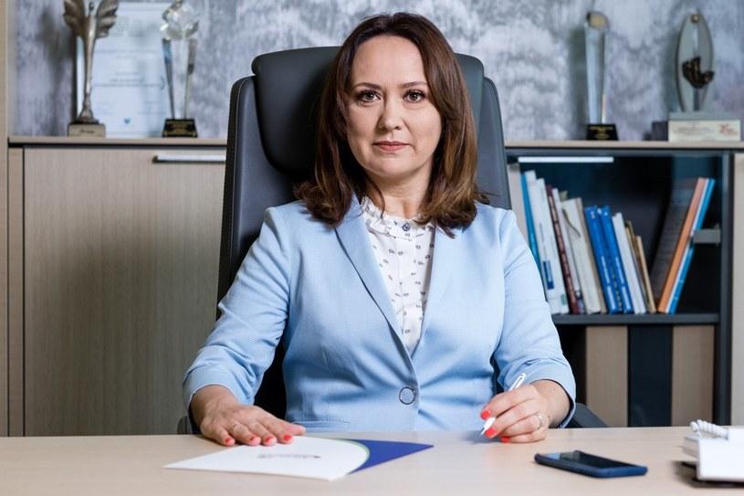 Małgorzata Cebelińska, dyrektor Handlu SM Mlekpol /materiały prasowe
