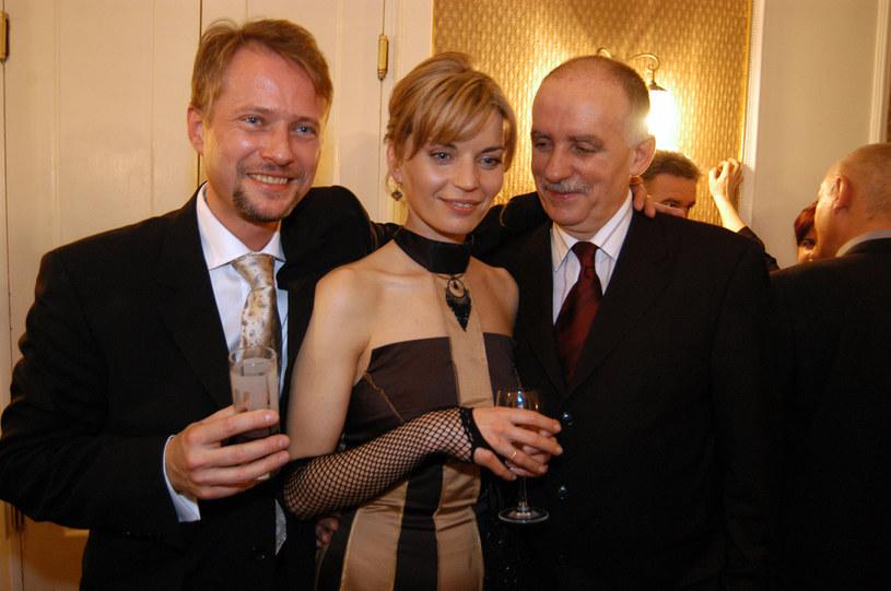 Małgorzata Foremniak, Artur Żmijewski, Tadeusz Lampka /Warda /AKPA