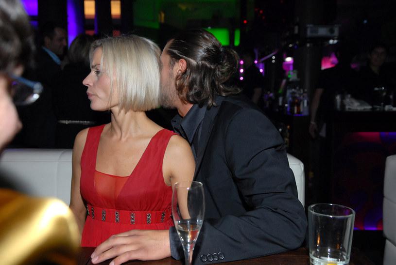 Małgorzata Foremniak i Rafał Maserak w 2007 roku /Andras Szilagyi /MWMedia