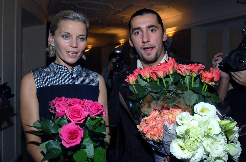 Małgorzata Foremniak i Rafał Maserak /MWMedia