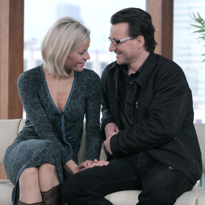 Małgorzata Foremniak i Robert Więckiewicz, 2007 rok /Wojciech Kurczewski /Agencja FORUM