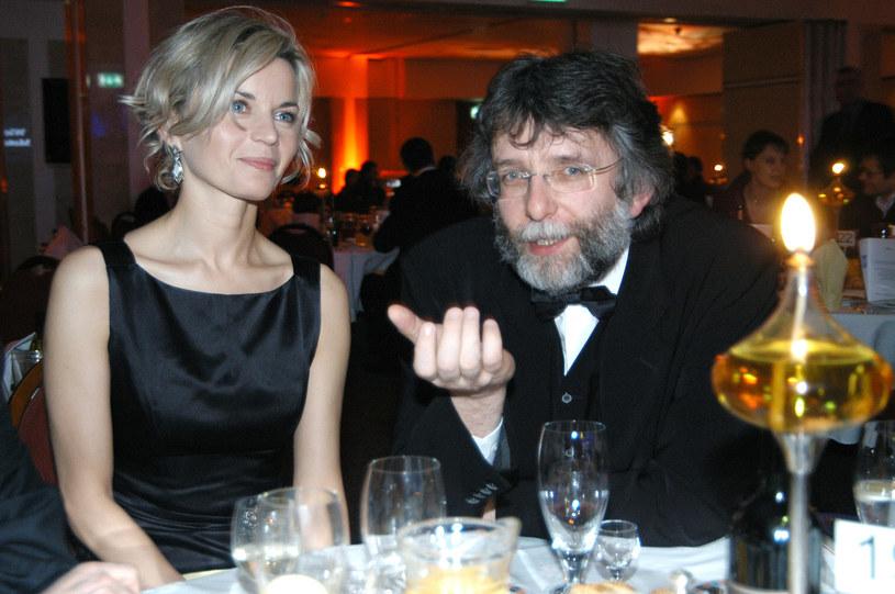 Małgorzata Foremniak i Waldemar Dziki, 2005 rok /Zawada /AKPA