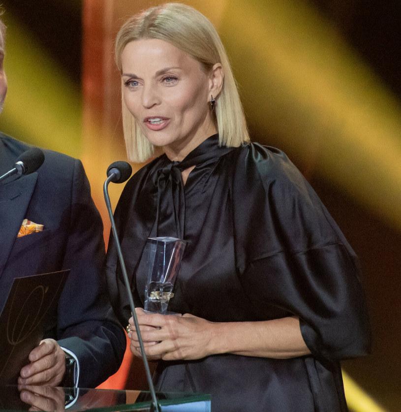Małgorzata Foremniak na festiwalu w Gdyni /Piotr Hukalo /East News