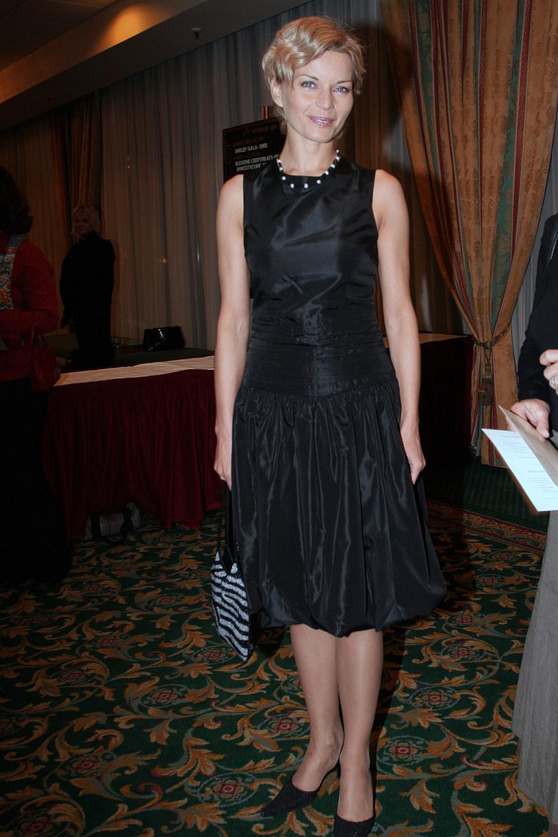 Małgorzata Foremniak en 2005 / Kaszuba / AKPA