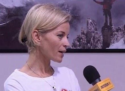 Małgorzata Foremniak weźmie udział w wyprawie na Kilimandżaro /INTERIA.PL