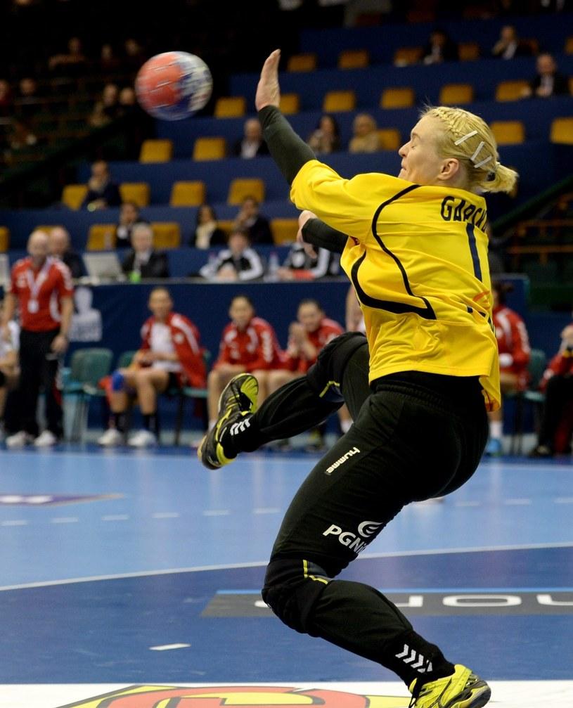 Małgorzata Gapska świetnie broniła w meczu z Francją /PAP/EPA