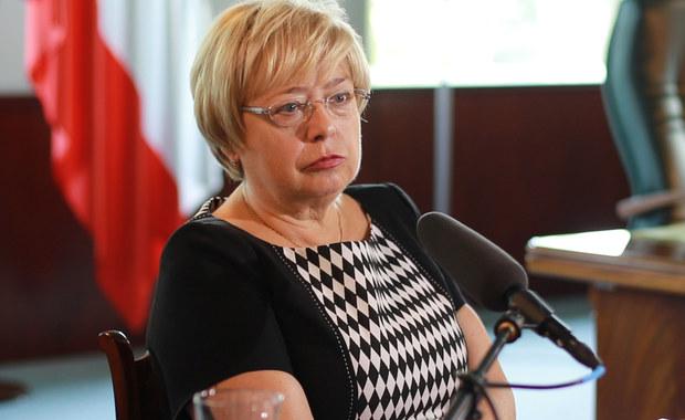 Małgorzata Gersdorf i sędzia gdańskiego Sądu Apelacyjnego u rzecznika dyscyplinarnego