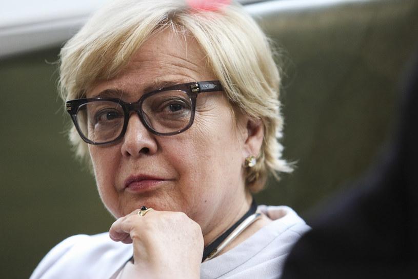 Małgorzata Gersdorf /Andrzej Hulimka  /Agencja FORUM