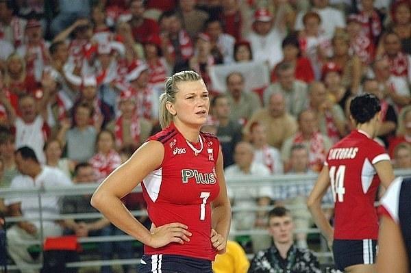Małgorzata Glinka na pewno nie zagra w reprezentacji podczas mistrzostw świata w Japonii /Tomasz Szatkowski