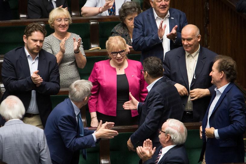 Małgorzata Gosiewska (PiS) została wybrana w środę na nowego wicemarszałka Sejmu /Mateusz Włodarczyk /Agencja FORUM