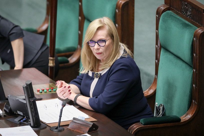 Małgorzata Gosiewska /fot. Andrzej Iwanczuk /Reporter