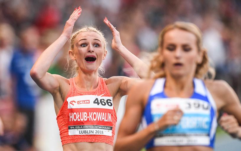 Małgorzata Hołub-Kowalik zaskoczona świetnym rezultatem /