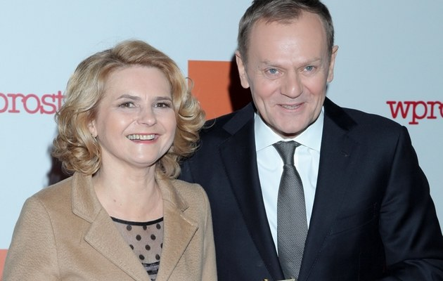 Małgorzata i Donald Tuskowie /- /MWMedia
