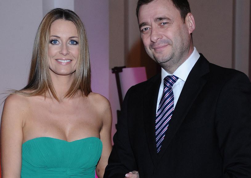 Małgorzata i Jacek mają ze sobą dobry kontakt /Andras Szilagyi /MWMedia